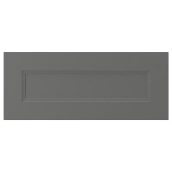 "AXSTAD Drawer front, dark gray, 24x10 """