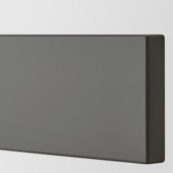 "AXSTAD Drawer front, dark gray, 36x5 """