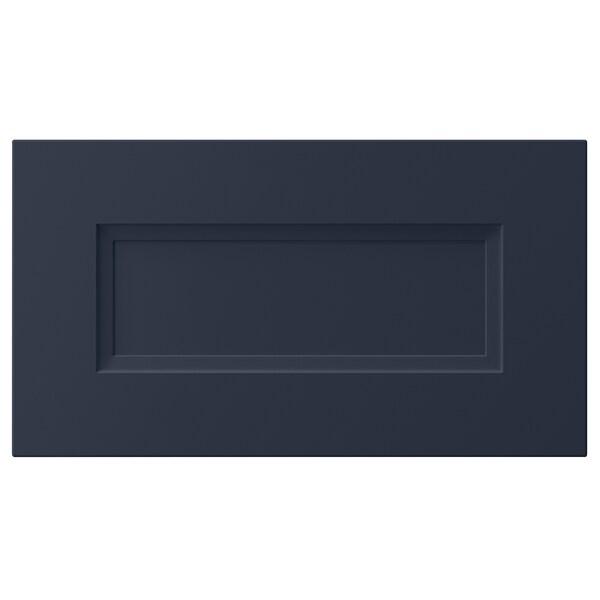 "AXSTAD Drawer front, matte blue, 18x10 """