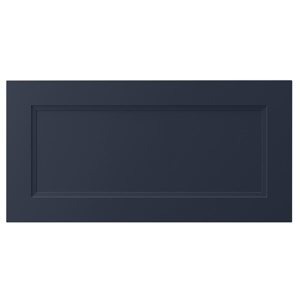 AXSTAD Drawer front, matte blue, 30x15 ""