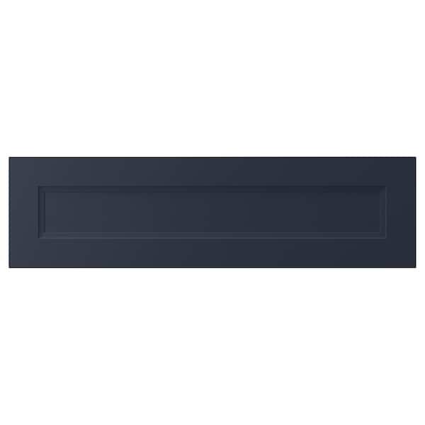 "AXSTAD Drawer front, matte blue, 36x10 """