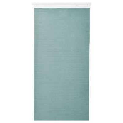 "BACKSILJA Panel curtain, blue-gray, 24x118 """