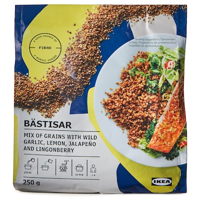 BÄSTISAR Mix of grains with spices, 9 oz