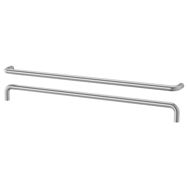 """BAGGANÄS Handle, stainless steel, 13 3/16 """""""