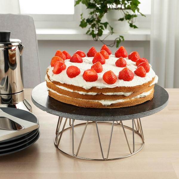 "BAKGLAD Cake stand, 11 """