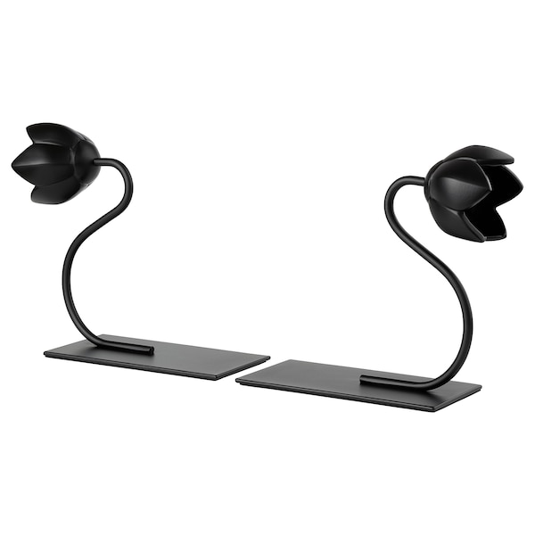 BAKHASARE Bookend, flower black