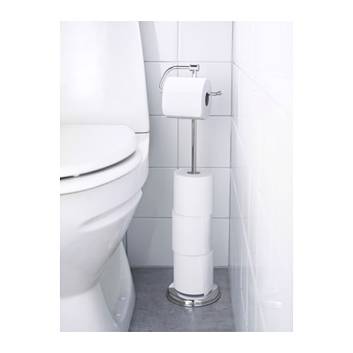 Balungen Toilet Roll Holder Ikea The Magnetic Allows You To Quickly And Easily Change
