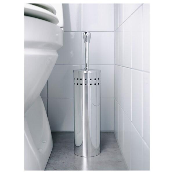 """BAREN toilet brush stainless steel 16 3/4 """" 3 7/8 """""""
