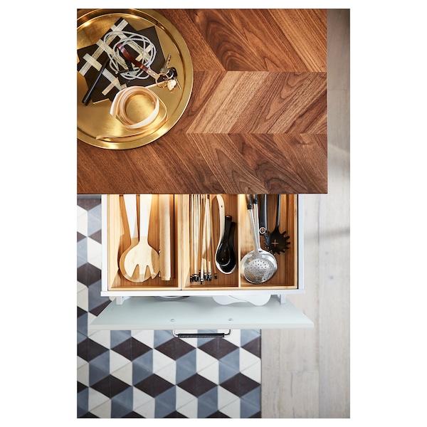 "BARKABODA Countertop, walnut/veneer, 74x1 1/2 """