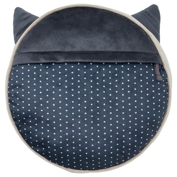 "BARNDRÖM Cushion with pocket, beige, 13x3 """