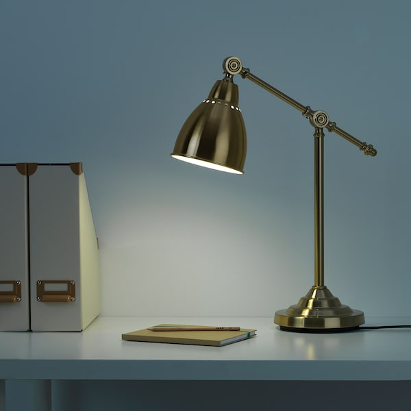 IKEA BAROMETER Work lamp with led bulb