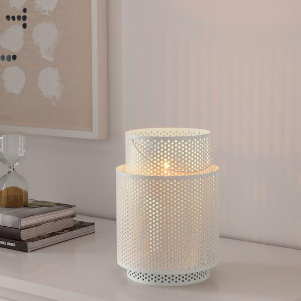 "BEHÄRSKA lantern for block candle white 10 """