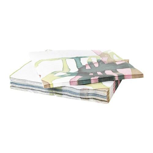 BEHAGA Paper napkin, multicolor