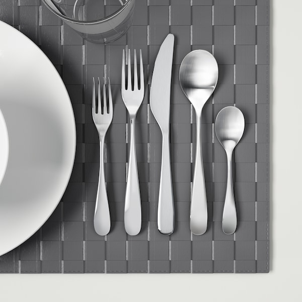 BEHAGFULL 20-piece flatware set stainless steel