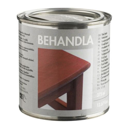 BEHANDLA Glazing paint IKEA Makes the surface of untreated wood more durable.