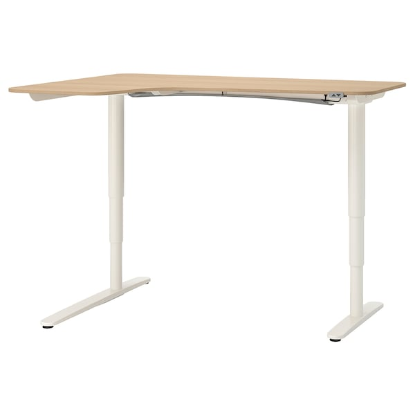 IKEA BEKANT Corner desk left sit/stand