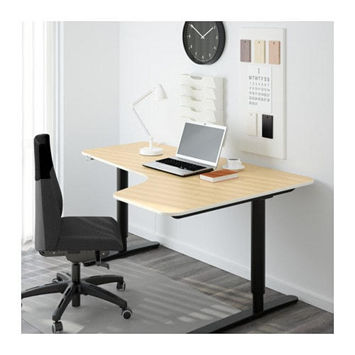 BEKANT Corner table top right IKEA 10-year Limited Warranty.   Read about the terms in the Limited Warranty brochure.