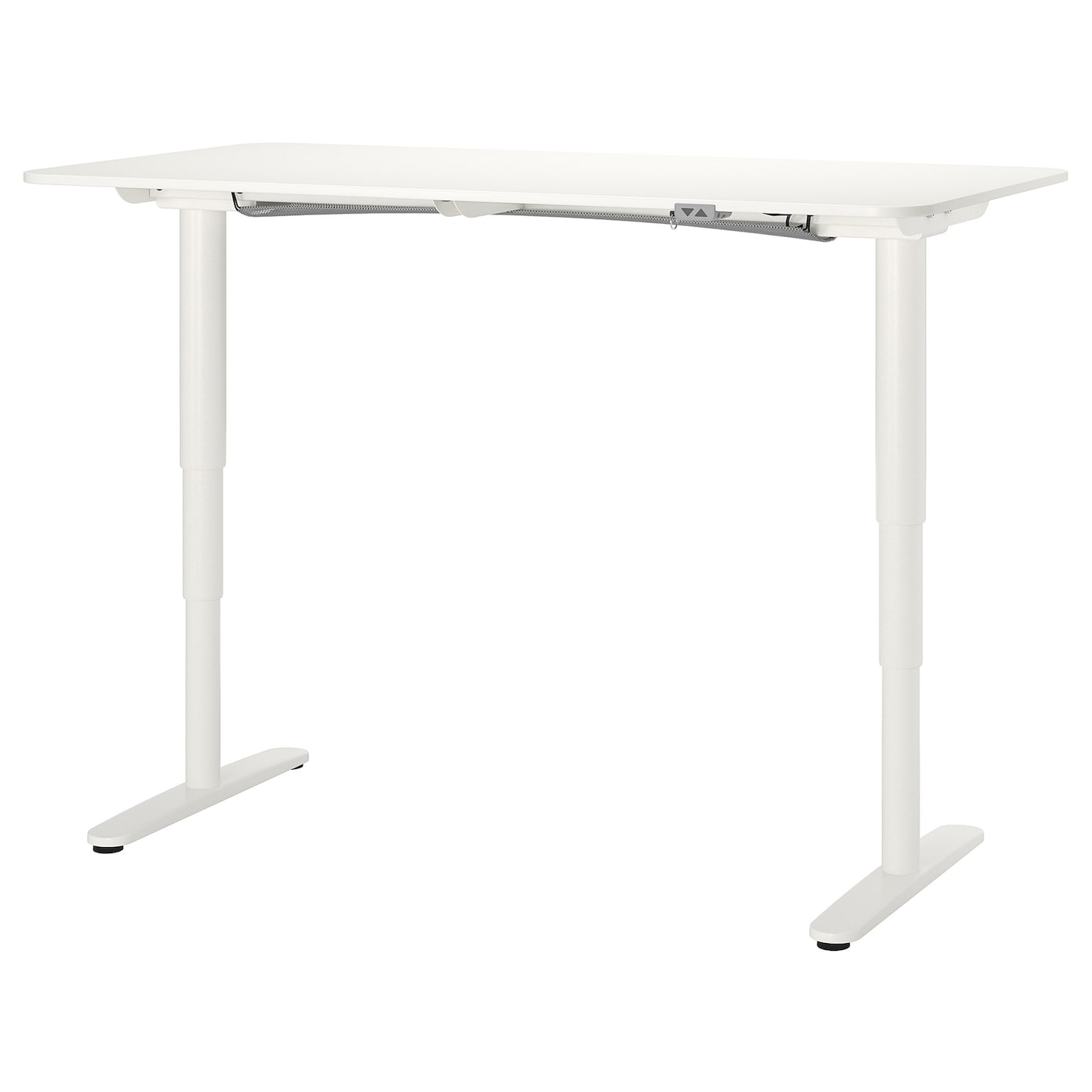 "BEKANT Desk sit/stand - white 38x38 38/38 """