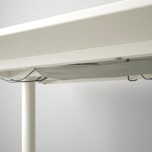 """BEKANT Desk, white, 63x31 1/2 """""""
