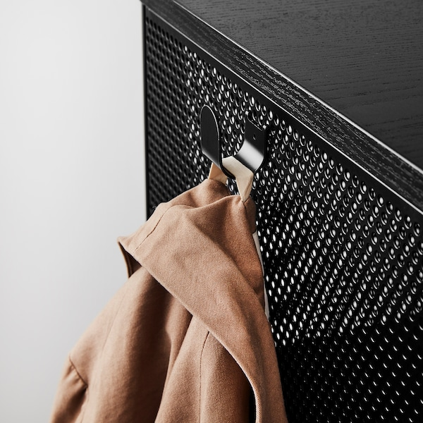 "BEKANT Shelf unit, black, 47 5/8x52 3/4 """