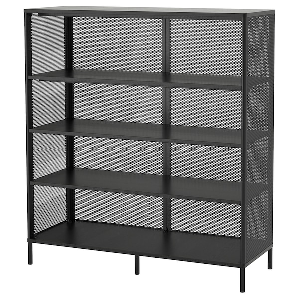 "BEKANT shelf unit black 47 5/8 "" 17 3/4 "" 52 3/4 "" 110 lb"