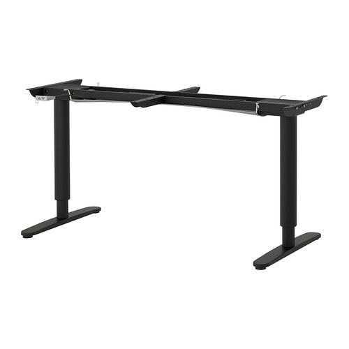 BEKANT Sit/stand underframe for table top IKEA