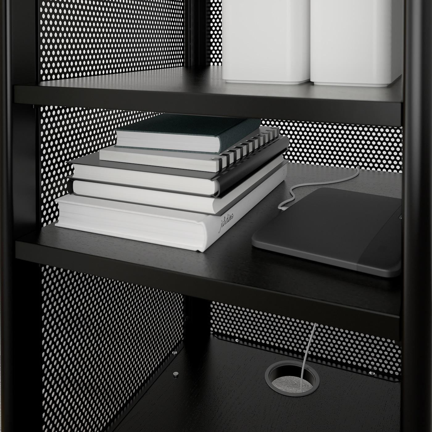 IKEA Pryttlar Key storage cabinet box holder BLACK Brand New