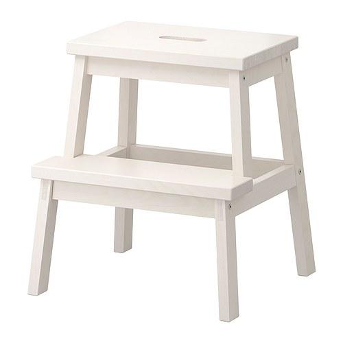 BEKVÄM Step stool, white
