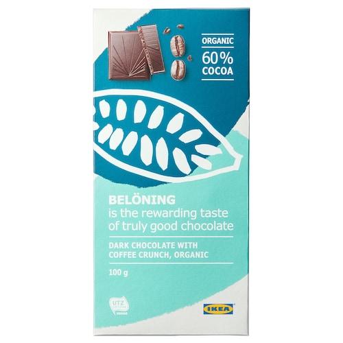IKEA BELÖNING Dark chocolate bar 60%