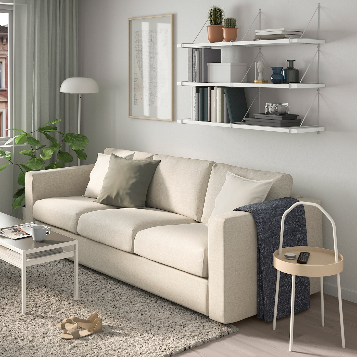 """BERGSHULT / PERSHULT Wall Shelf Combination, White, White, 47 1/4x11 3/4"""". Shop Today! - IKEA"""