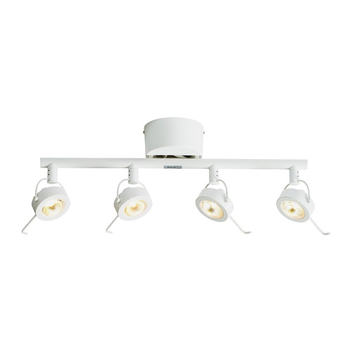BERYLL Quad spotlight IKEA Adjustable spotlights.