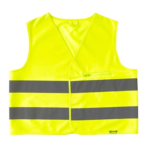 Beskydda reflective vest s yellow ikea for Ikea safety vest