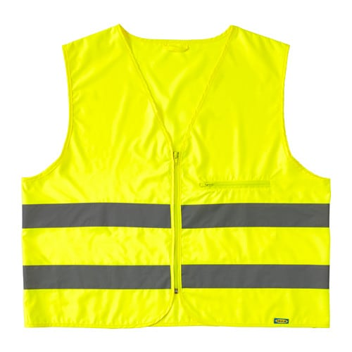 Beskydda reflective vest l xl yellow ikea for Ikea safety vest