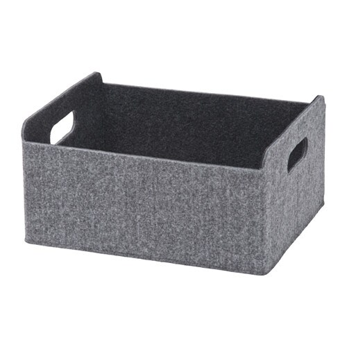 best box gray ikea