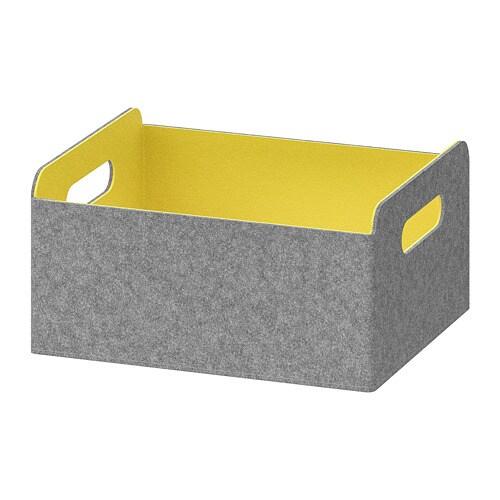 Bestå Box Yellow