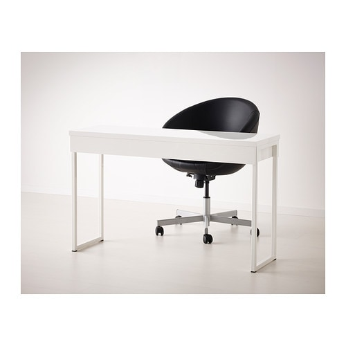 Ikea Scrivania Besta.Besta Burs Desk High Gloss White