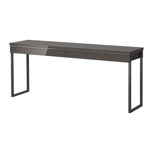BESTÅ BURS Desk IKEA Two people can work comfortably at the desk with this long table top.