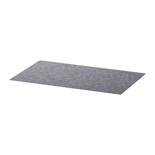 BESTÅ Drawer liner IKEA Soft felt protects your things and keeps them neatly in place.