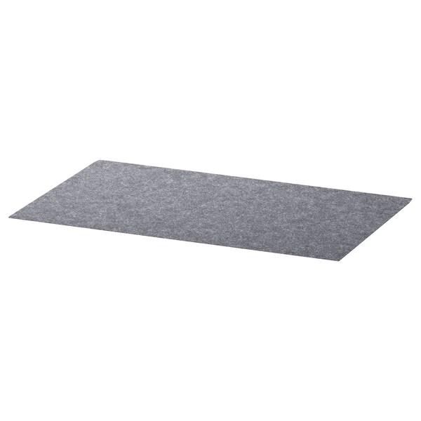 Besta Drawer Liner Gray 13x20 Ikea