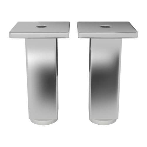 BESTÅ Leg IKEA Adjustable feet for stability on uneven floors.  BESTÅ legs make it easier to keep the surface under your storage clean.