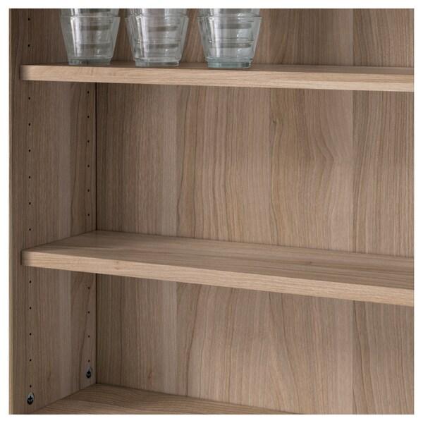 "BESTÅ shelf walnut effect light gray 22 "" 6 1/4 "" 29 lb"