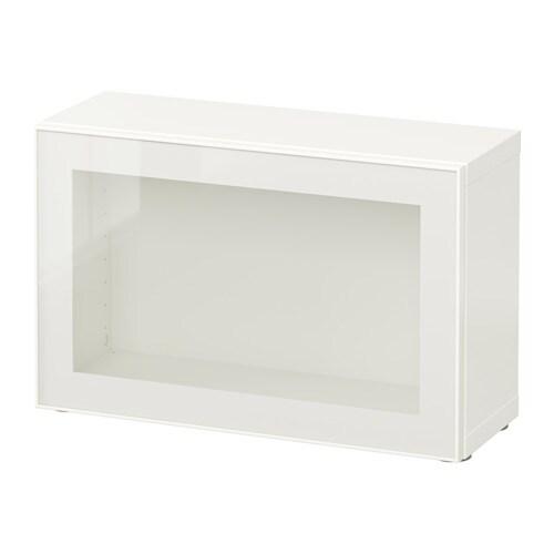 Best 197 Shelf Unit With Glass Door White Glassvik White