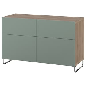 Color: Walnut effect light gray/notviken/sularp gray-green.