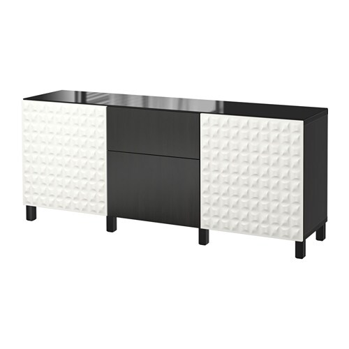 BESTu00c5 Storage combination w doors/drawers - Djupviken white/Lappviken ...