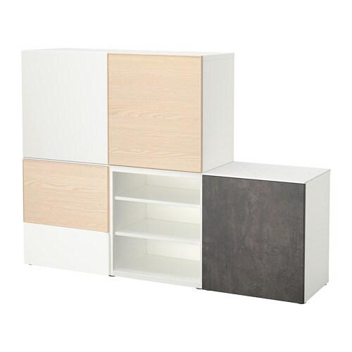 best storage combination w doors drawers ikea. Black Bedroom Furniture Sets. Home Design Ideas