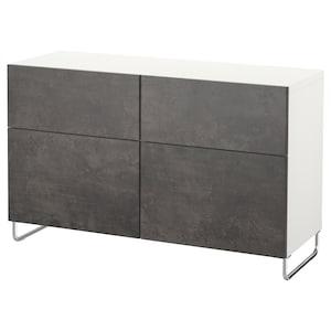 Color: White kallviken/sularp/dark gray concrete effect.
