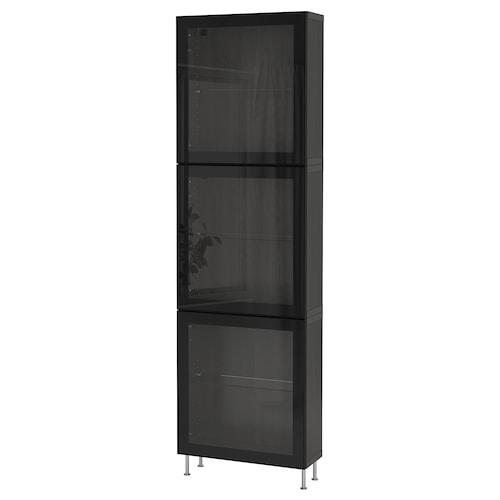 IKEA BESTÅ Storage combination w/glass doors