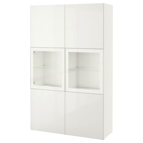 IKEA BESTÅ Storage combination w/glass doors