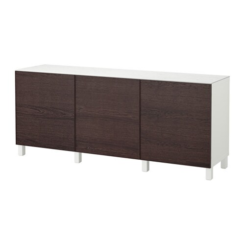 best storage combination with doors white inviken black brown ikea. Black Bedroom Furniture Sets. Home Design Ideas