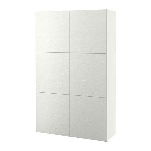 Best storage combination with doors laxviken white ikea - Serie besta ikea ...